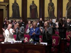 La cérémonie s'est déroulée au Sénat en présence de la Reine Paola