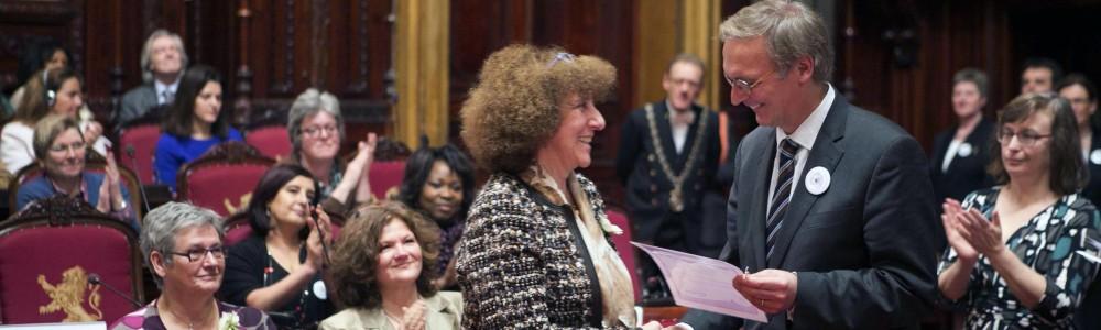 Femmes pour la Paix mise à l'honneur - Anne Morelli