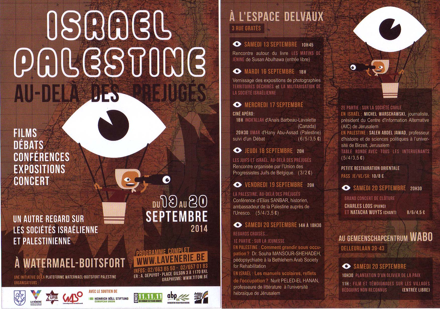 Plateforme Watermael-Boitsfort Palestine